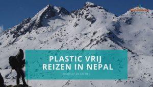 Plastic vrij reizen in Nepal - blog