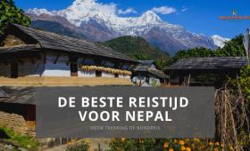 Beste reistijd voor Nepal