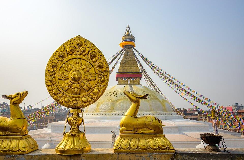 Culturele schatten in Kathmandu – de Boeddhistische stoepa van Boudhanath