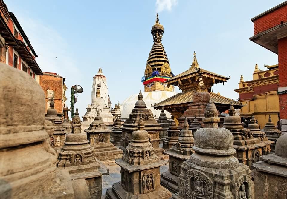 Culturele schatten in Kathmandu – de Boeddhistische tempel van Swayambunath