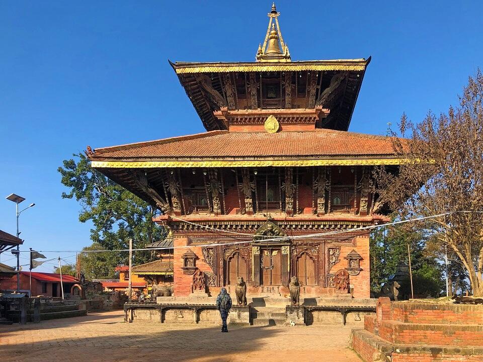 Culturele schatten in Kathmandu – de oudste tempel van Nepal in Changunarayan
