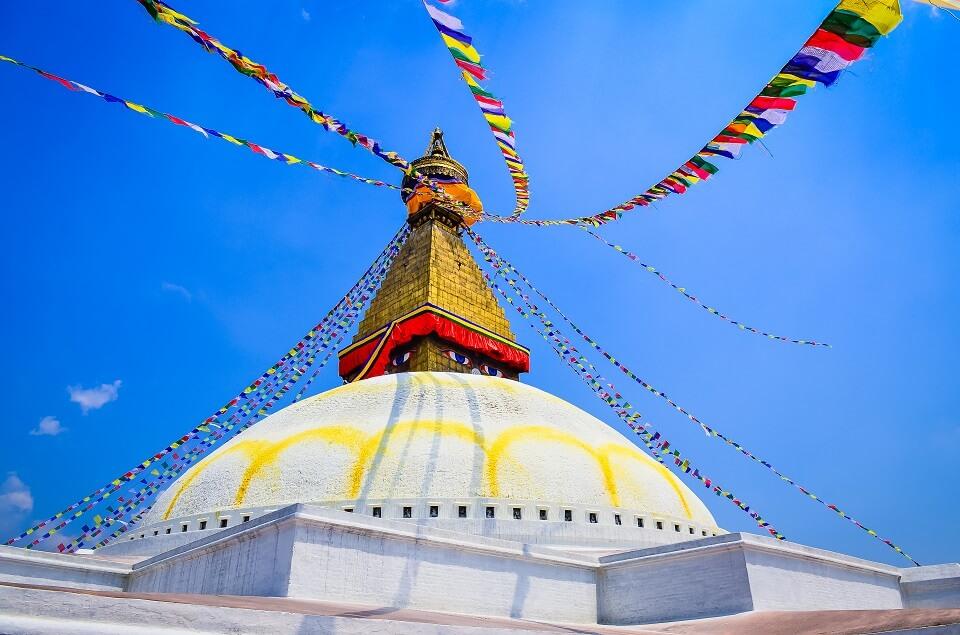 Hoogtepuntenreis Nepal – Boudhanath stoepa