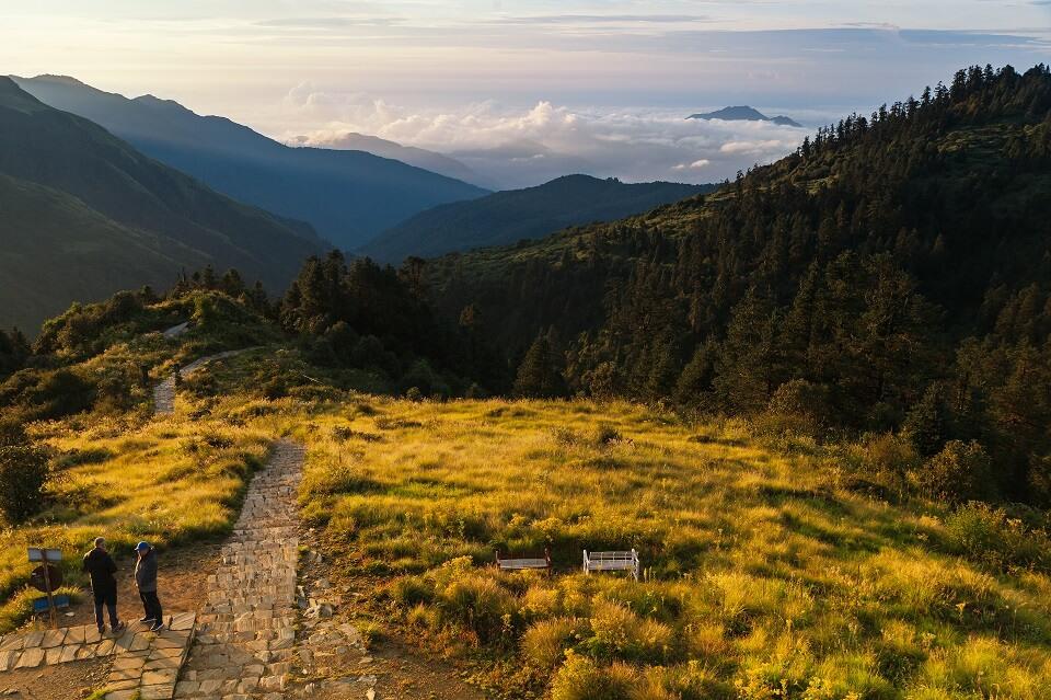 Poon Hill & Muldai Peak trekking – het mooi landschap tijdens de trekking