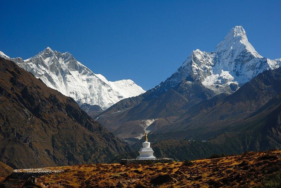 Sherpa Culture trekking – prachtig uitzicht op de Ama Dablam
