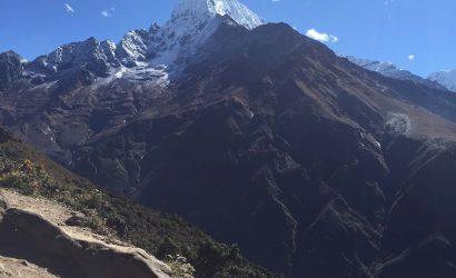 Everest trail - zicht tijdens de Sherpa Culture trek