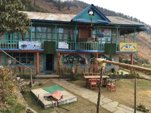 Teahouse during trekking