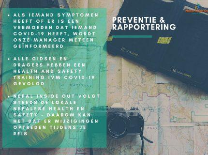 Health en safety richtlijnen in Nepal – preventie en rapportering