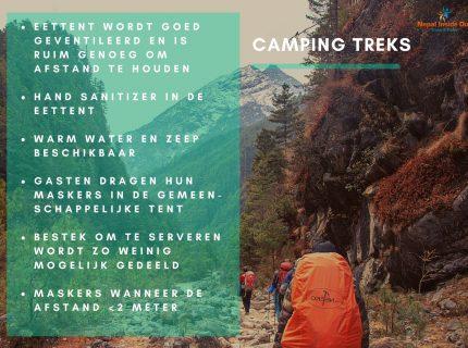 Health en safety richtlijnen in Nepal – camping trekking