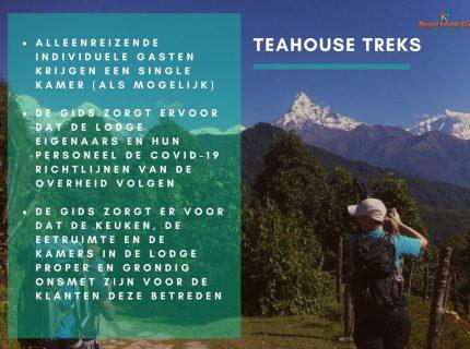 Health en safety richtlijnen in Nepal – teahouse trekking