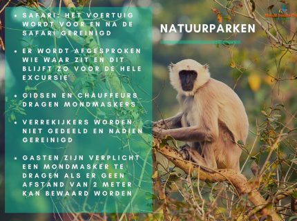 Health en safety richtlijnen in Nepal – natuurparken en safari's