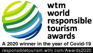 2020 winner of the wtm world responsible tourism awards