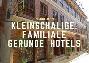Verblijf in een kleinschalig familiaal gerund hotel