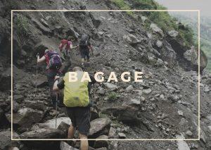 Bagage voor Nepal reis