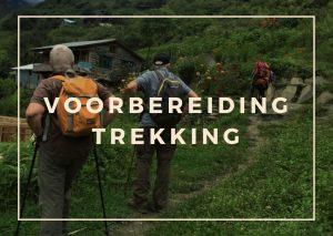 Voorbereiding voor trekking in Nepal