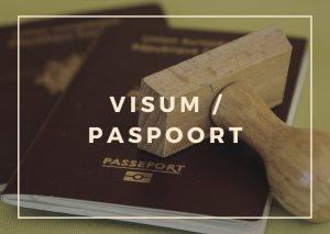 Visum en paspoort voor Nepal reis