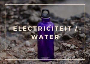 Electriciteit en water tijdens Nepal reis