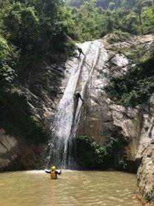 Canyoning near Pokhara