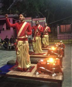 Ayaarti ceremony near Phewa Lake