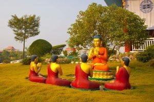 Lumbini - the life of Buddha