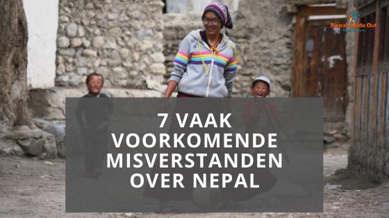 Vaak voorkomende misverstanden over Nepal